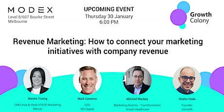 Revenue Marketing: Connect your marketing initiatives with company revenue tickets