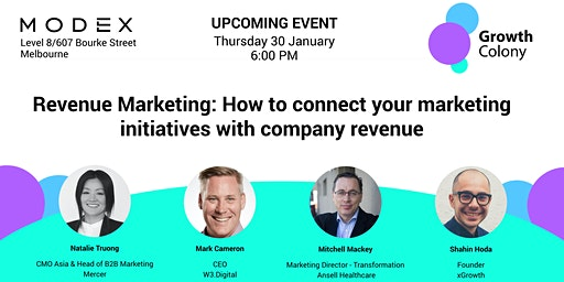 Revenue Marketing: Connect your marketing initiatives with company revenue