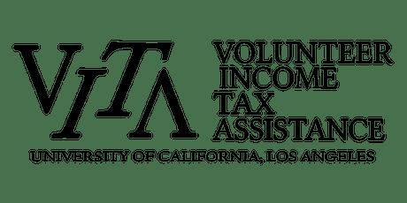 VITA@UCLA: On Campus Tax Site April tickets