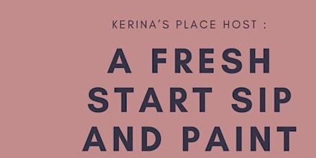 Fresh Start Sip & Paint tickets