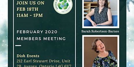 Green Connections Network February 2020 Meeting tickets