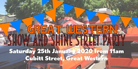 Great Western Show & Shine Street Party tickets