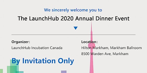 The LaunchHub 2020 Annual Dinner Event
