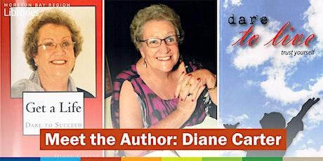 Meet the Author: Diane Carter - Bribie Island Library tickets