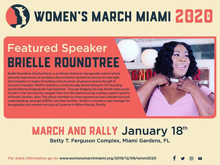Women's March Miami 2020 March & Rally image