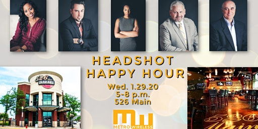 Headshot Happy Hour for Telecom Professionals