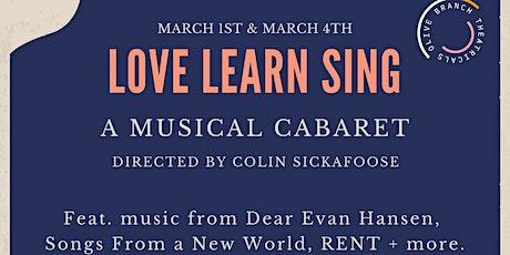 Love Learn Sing tickets
