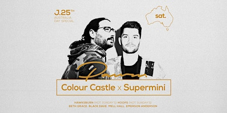 Pawn Saturdays ft Colour Castles B2B Supermini 3 hour special tickets