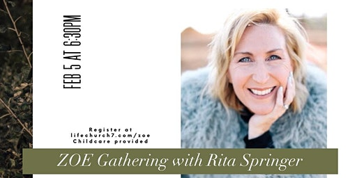 ZOE Gathering with Special Guest Rita Springer