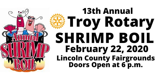 Troy Rotary 13th Annual Shrimp Boil