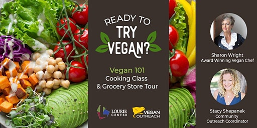 SOLD OUT Vegan 101: Cooking Class and Grocery Tour