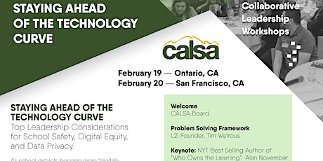 CALSA Staying Ahead of the Technology Curve Workshop tickets