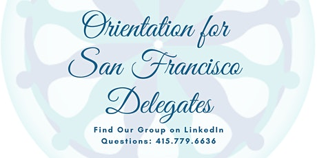 Final Orientation for SF Delegates - UN/NGO CSW64 tickets