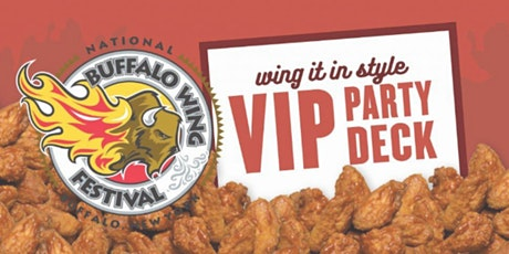 2020 VIP Party Deck at the National Buffalo Wing Festival tickets