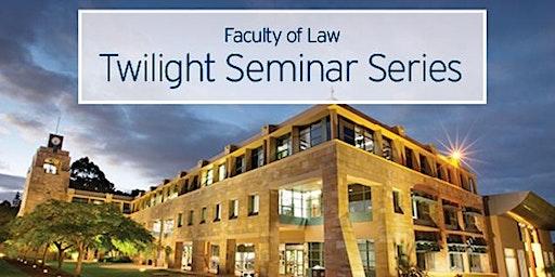 Twilight Seminar - Scott McDougall