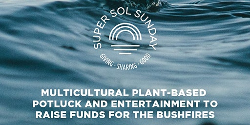 Super Sol Sunday | The Bushfires Fundraiser