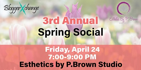 3rd Annual Spring Social tickets