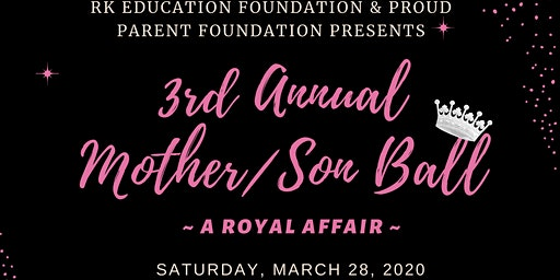 3rd Annual Mother/Son Ball