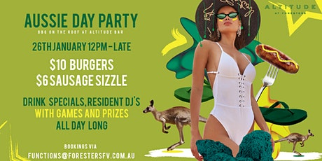 AUSTRALIA DAY PARTY at ALTITUDE ROOFTOP tickets