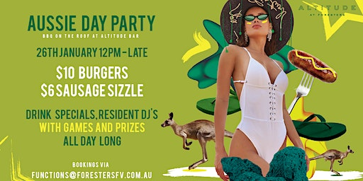 AUSTRALIA DAY PARTY at ALTITUDE ROOFTOP