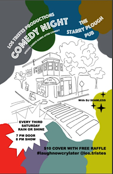 Comedy Night at The Starry Plough w/ Los Tristes