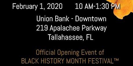 Black History Month Festival Kickoff Reception Saturday Morning Fish Fry tickets