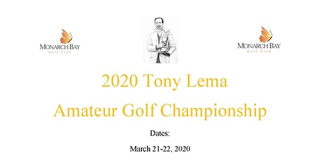 Tony Lema Amateur Golf Championship tickets