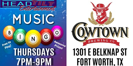 Music Bingo at Cowtown Brewing Co - Fort Worth, TX tickets