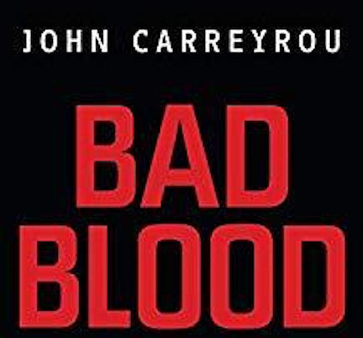 "ULCC Meet the Author: John Carreyrou ""Bad Blood"" image"