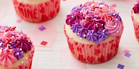 Kids Cupcake Decorating Class--Valentine's Edition tickets