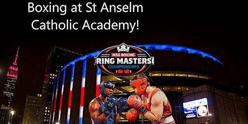 Ring Masters Boxing at St Anselm Catholic Academy