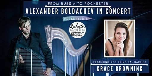 From Russia to Rochester: Alexander Boldachev in Concert