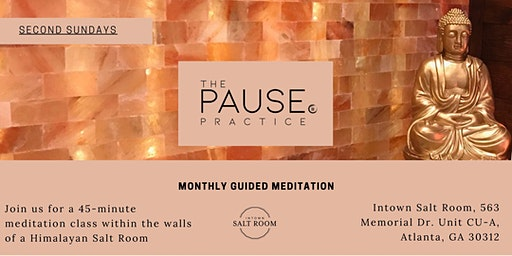 Monthly Guided Meditation with The Pause Practice at 10AM