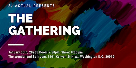 """FJ Actual Presents """"The Gathering"""" tickets"""