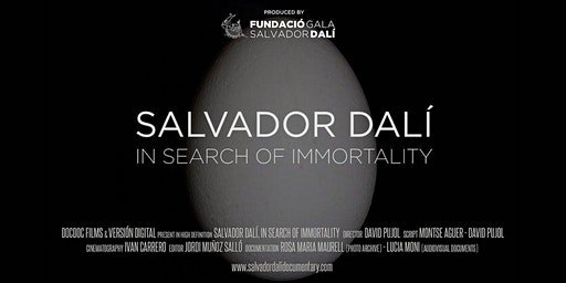 Salvador Dali: In Search Of Immortality  - Sydney Premiere - Wed 5th Feb