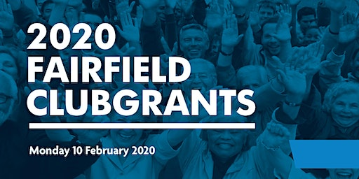 2020 Fairfield ClubGRANTS Information Sessions