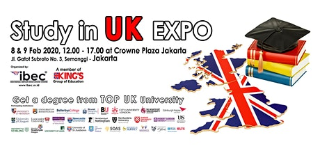 Study in UK Expo 2020 tickets