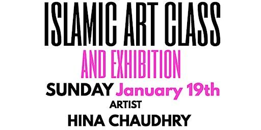 Islamic Art Class with Artist Hina Chaudhry, Masjid Hamza