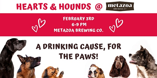 Hearts & Hounds, First Annual Fundraiser