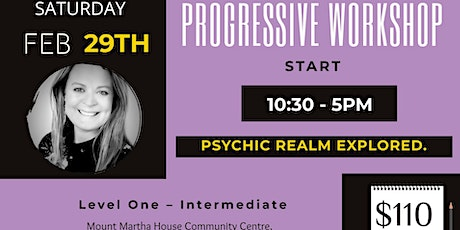 Foundation Level - Psychic and Mediumship Development. tickets