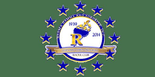 Sigma Gamma Rho Sorority, Inc. Lambda Delta Sigma Chapter - Rhoer Induction