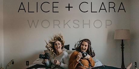 Alice + Clara Workshop tickets