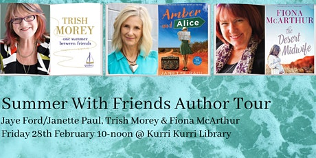Summer With Friends: Janette Paul/Jaye Ford, Trish Morey & Fiona McArthur tickets