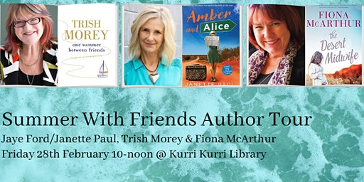 Summer With Friends: Janette Paul/Jaye Ford, Trish Morey & Fiona McArthur