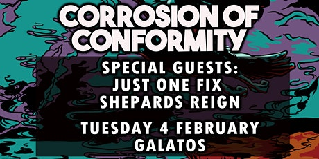 CORROSION OF CONFORMITY - Just One Fix - Support discounted tickets tickets