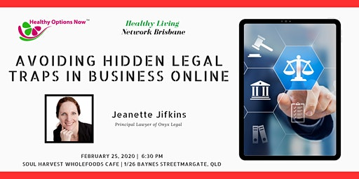 Avoiding hidden legal traps in business online