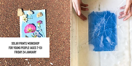 Solar Prints Workshop for Young People (Ages 7-13) tickets