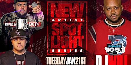 New Artist Spotlight Concert Series w/  Power 105.1's Dj Will tickets