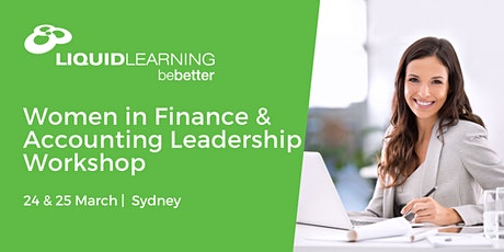 Women in Finance & Accounting Leadership Workshop Sydney tickets