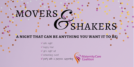 Maternity Care Coalition's Movers & Shakers tickets